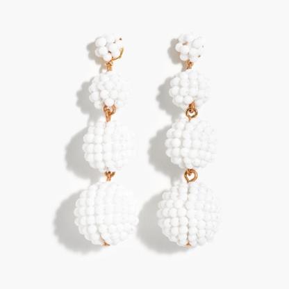 beaded-ball-earrings