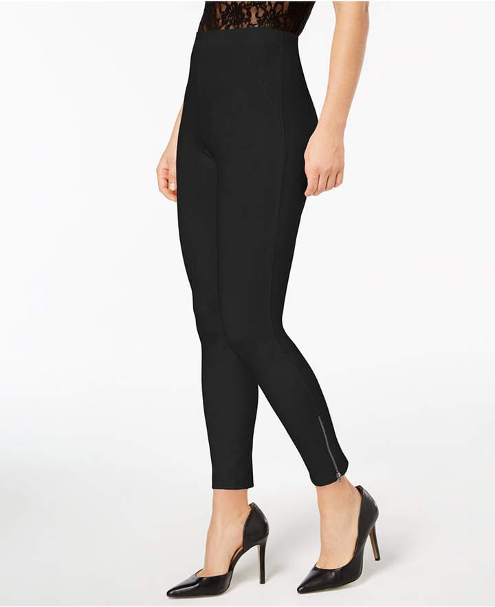 Hue-Simply-Stretch-Ankle-Zip-Leggings